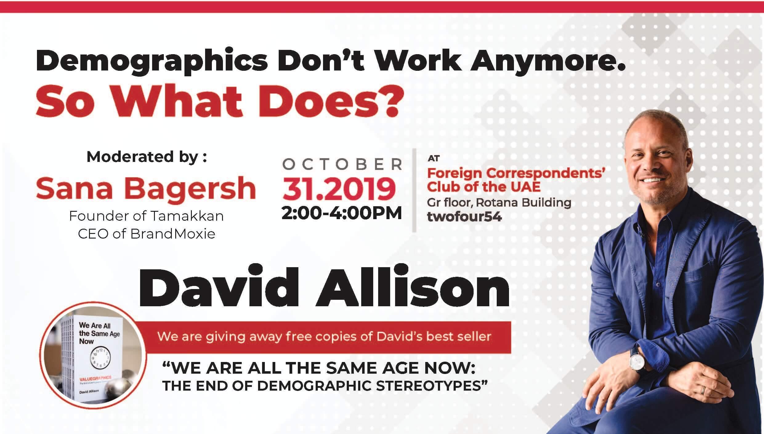 David Allison – Tamakkan on October 31, 2019