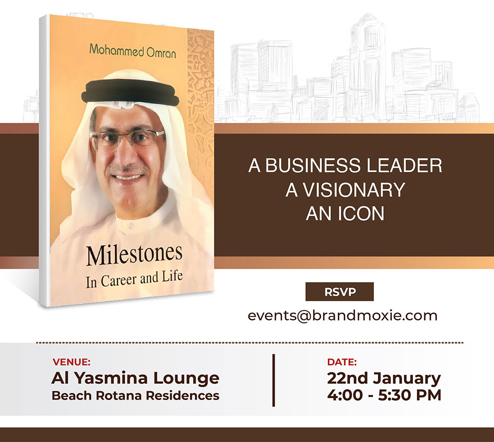 "Come for a ""fireside chat"" with Mohammed Omran"