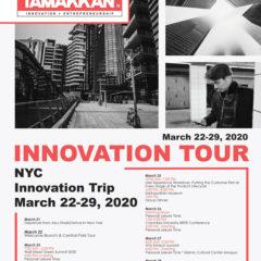 Tamakkan New York Innovation Tour 2020